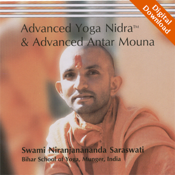 Advanced Yoga Nidra and Advanced Antar Mouna - Digital Download