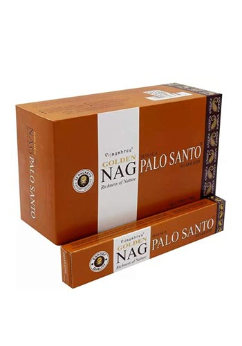 Incenso Golden Nag Palo Santo Edizioni Satyananda Ashram Italia