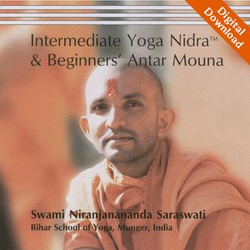 Internediate Yoga Nidra and Beginners Antar Mouna - Digital Download