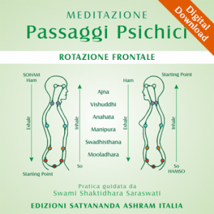 MEDITATION • Psychic Passages – Frontal Rotation – Mp3