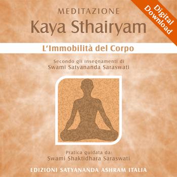 Meditazione Kaya Sthairyam - Digital Download