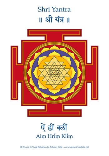 Shri Yantra - Edizioni Satyananda Ashram Italia